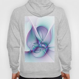 A Colorful Beauty, Abstract Fractal Art Hoody