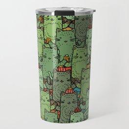 Catcus Garden Travel Mug