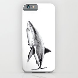 Great white shark (Carcharodon carcharias) iPhone Case