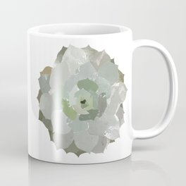 Watercolor Succulent Coffee Mug
