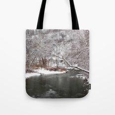 Frosty Creek Tote Bag