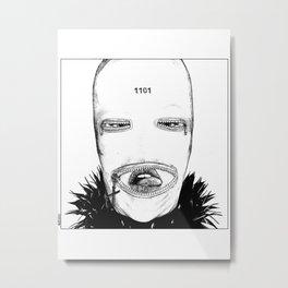 asc 424 - Le masque de la Toussaint (Trick or treat!) Metal Print