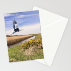 The hungry Heron Stationery Cards