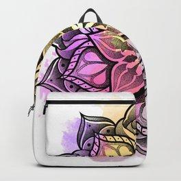 Watecolor Mandala Backpack