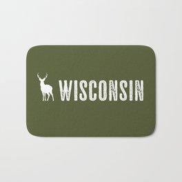 Deer: Wisconsin Bath Mat
