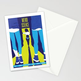 80s TEEN MOVIES :: WEIRD SCIENCE Stationery Cards