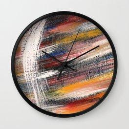 cosmic constellation Wall Clock