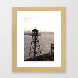 Alcatraz Look Out  Framed Art Print