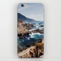 big sur iPhone & iPod Skins featuring Big Sur by Dan Grady
