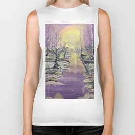 Warm winter beauty Biker Tank