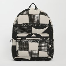 Tapa Cloth | Pacifica Patterns | Tribal Art Backpack