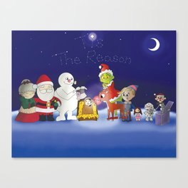 'Tis the Reason for the Season Canvas Print