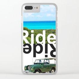 RIDE ISLAND BAHAMAS Clear iPhone Case