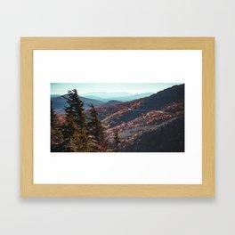 Lynn Cove Viaduct - Blue Ridge Parkway Framed Art Print