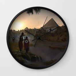 12.000 years ago Wall Clock