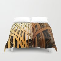 library Duvet Covers featuring Library  by Ethna Gillespie