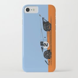 Vintage Le Mans race car livery design - 917 iPhone Case