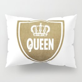 Queen & King (For Her & For Him) Pillow Sham
