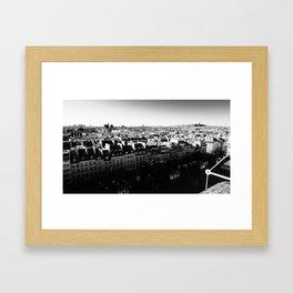 Paris Panorama Framed Art Print