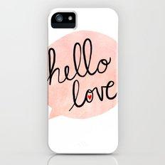 Hello Love iPhone (5, 5s) Slim Case