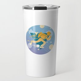 Mailbox Delivers Letters Collects Mail Courier Postman Mailperson Mailman Gift Travel Mug