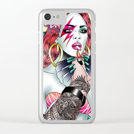 BowieLana Clear iPhone Case