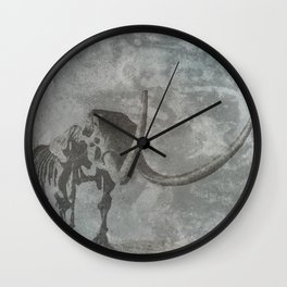 Half Tone Mammoth Wall Clock