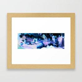 Fantastical Landscape Framed Art Print