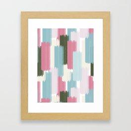 Falling #society6 #abstractart Framed Art Print