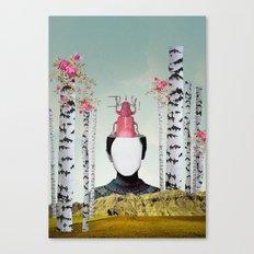 VIAJERA ESPACIAL // JUNO  Canvas Print