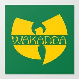 Wa-tang Kanda Canvas Print
