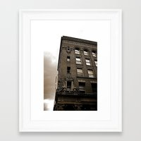 building Framed Art Prints featuring Building by Kassi