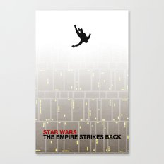 The Empire Strikes Back (Mad Galaxy Series 2 of 3) Canvas Print