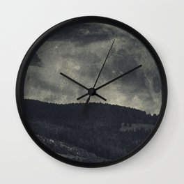 eerie landscapes 3 Wall Clock