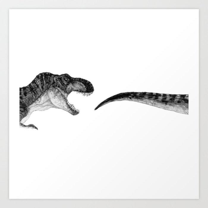 T-Rex Kunstdrucke