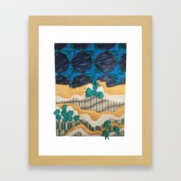 Deserted Stormscape Framed Art Print