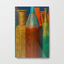 Tubular Jars in Mesilla, New Mexico Metal Print