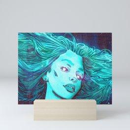 Blue Dream Mini Art Print