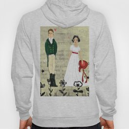 Mr.Darcy of Pemberley and Miss Bennet of Longbourn Hoody