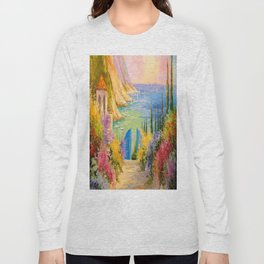 Road to the sea Long Sleeve T-shirt