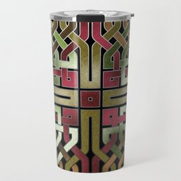 Earthtone Celtic Knot Travel Mug