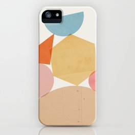 Abstraction_Balances_006 iPhone Case