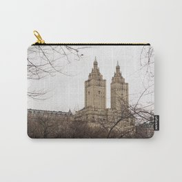 Winter in New York with the view of The San Remo apartment Carry-All Pouch