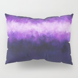 Dark Blue Grape Abstract Pillow Sham