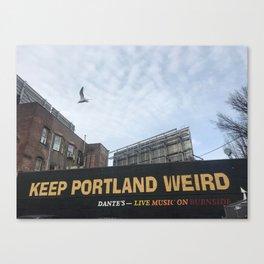 Keep Portland Weird Canvas Print