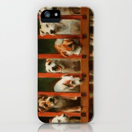 The Dogs of Linden iPhone Case
