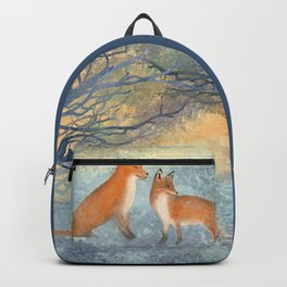 The Two Foxes Backpack