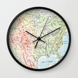 sweet land of liberty Wall Clock