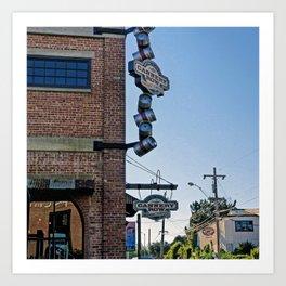 Cannery Row Monterey Art Print