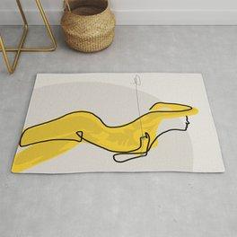 Mustard Moonlight  Rug